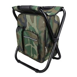 YangGuang Compact Lightweight and Portable Folding Stools Ultralight Backpack Cooler Chair Trave ...