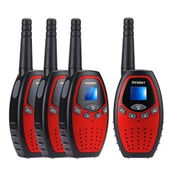incoSKY Walkie Talkies for Kids 22 Channel 400M-480MHz with PPT/VOX 2 Way Radio 3 KM Long Range  ...