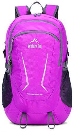 Venture Pal Large 45L Hiking Backpack – Packable Lightweight Travel Backpack Daypack for W ...