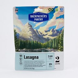 Backpacker's Pantry Lasagna, Two Serving Pouch, (Packaging May Vary)