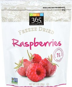 365 Everyday Value, Freeze Dried Raspberries, 1 Ounce