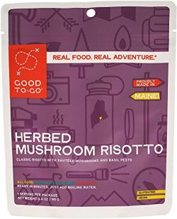 Good To Go Herbed Mushroom Risotto (Single Serving)