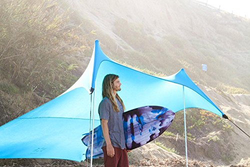 Grande Beach Tent With Sand Anchor Portable Canopy For