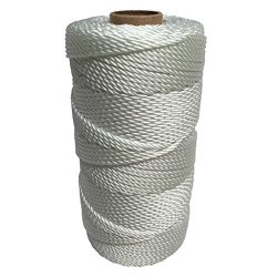SGT KNOTS Twisted Nylon Seine Twine #36 100% Nylon Fiber- High Tensile Strength & Versatile  ...