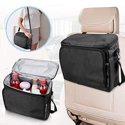 Isulated Lunch Bag, Aystuff Large Foldable Cooler for Car, Camping, Grocery, Car Trips, Outdoor  ...