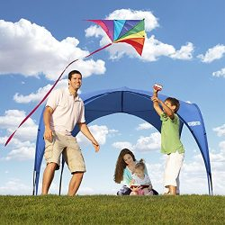 Huge Beach Tent: Shades Over 12 People! Easy Up Canopy, UV Protection Gazebo Roof. Shade Shelter ...