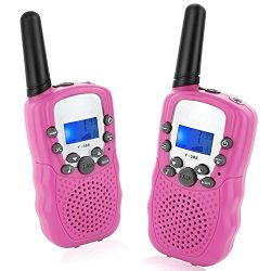 Topsung T388 Walkie Talkies for Kids Easy to Use 22 Channels Long Range with Flashlight Birthday ...