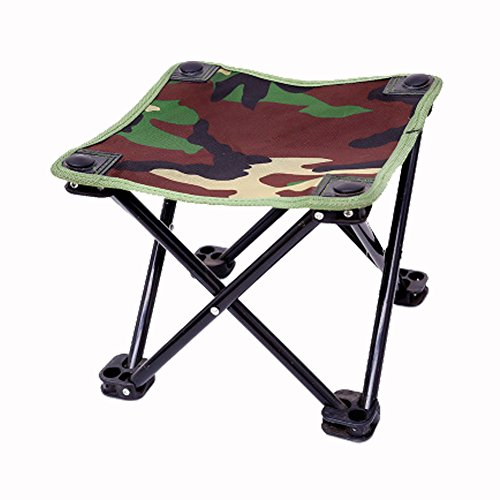 Camouflage Fishing Chair Folding Stool High Intensity