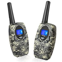 Two Way Radios Long Range, Topsung M880 FRS Walkie Talkie for Adults with Mic LCD Screen/Portabl ...