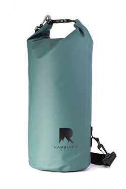 Rambler's Peak Dry Bag – Reliable 10L Waterproof Bag Great For Fishing, Kayaking, Ca ...