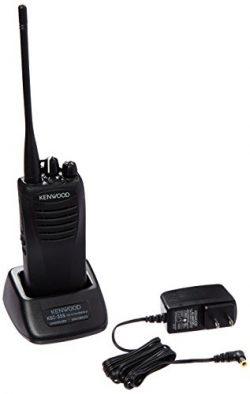 Kenwood TK-3400U16P ProTalk 16 Channel Compact UHF FM 2-Watts Portable Two-Way Radio, Wireless C ...