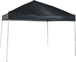 AmazonBasics Pop-Up Canopy Tent – 10′ x 10′, Grey