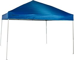 AmazonBasics Pop-Up Canopy Tent – 10′ x 10′, Blue