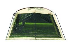 Texsport Wayford 12′ x 9′ Portable Mesh Screenhouse Arbor Canopy for Backyard and Ca ...