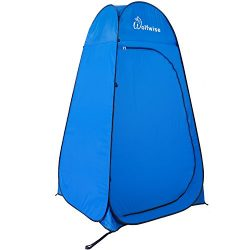 WolfWise Pop-up Shower Tent (Update D door)