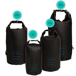 Waterproof Dry Bag – 5L, 10L, 20L, or 30L – Water Proof Bags for Protecting Food and Gear at the ...