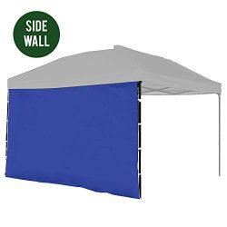 Punchau Canopy Side Wall – Blue Sidewall for 10×10 Feet Pop Up Canopy Tent