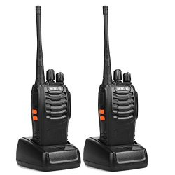 Retevis H-777 Walkie Talkie UHF 400-470MHz 3W 16CH Single Band With Earpiece High Illumination F ...