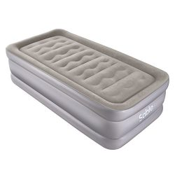 Sable Air Mattress with Built-in Electric Pump, Upgraded Raised Inflatable Airbed for Camping, T ...