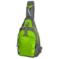 LC Prime Sling Bag Backpack Chest Shoulder Compact Fanny Sack Satchel Outdoor Bike nylon fabric  ...