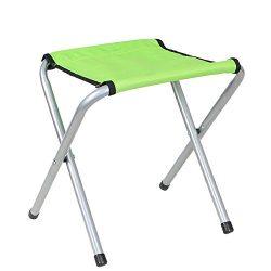 BaikoubaoweiLr Camping Stool Portable Fishing Stool Lightweight Folding Chair, 11.41 x 13.38 x 1 ...