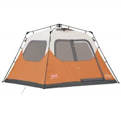 NEW COLEMAN Outdoor Camping Waterproof 6 Person Instant Tent – 10'x9′ Foootprint
