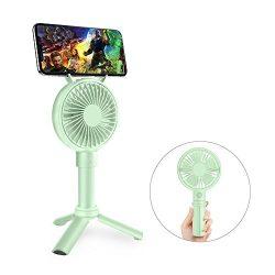 Handheld Fan, GAVAER Mini Portable Fan Rechargeable Battery Operated, Desk Electric Fan for Trav ...