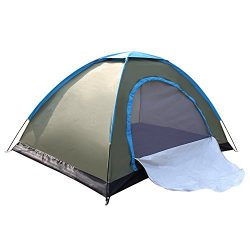 WINMI 2 Person Tent Folding Waterproof Tent Camping Instant Tent for Hiking,Travel,Garden and Ou ...