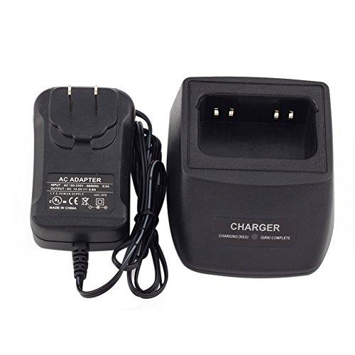 TOOGOO(R) LI-ION Ni-MH Ni-CD Two-Way Radio Rapid Battery Charger for Motorola HNN9013 HT750 HT12 ...