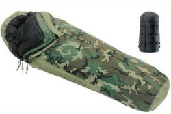US Military 4-PC Weather Resistant Modular Sleep System with Waterproof Gore-Tex Cover