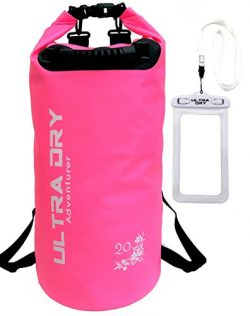 Ultra Dry Premium Waterproof Bag, Sack with phone dry bag and Long Adjustable Shoulder Strap Inc ...