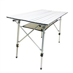 Seatopia Camping Table Portable for Camping Hiking