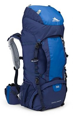 High Sierra Explorer 55L Top Load Internal Frame Backpack Pack, High-Performance Pack for Backpa ...