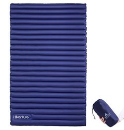 Hikenture Double Sleeping Pad – 2 Person Camping Mat Inflatable Air Mattress with Built-in ...