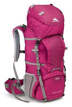 High Sierra Women's Explorer 50L Top Load Internal Frame Backpack Pack, High-Performance P ...