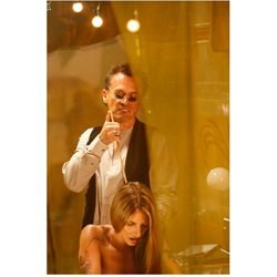 Heroes Robert Knepper as Samuel Sullivan with Girl in Tent 8 x 10 Inch Photo