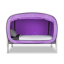Privacy Pop Bed Tent (Twin) – LAVENDER