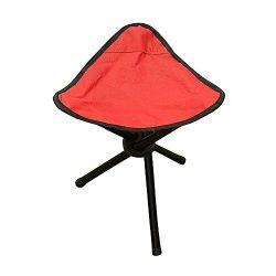 PiscatorZone Tripod Stool,3-Legged Stool, Children Baby Seat Kids Furniture-Foldable, Portable,  ...
