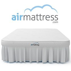 Air Mattress KING size – Best Choice RAISED Inflatable Bed with Fitted Sheet and Bed Skirt ...