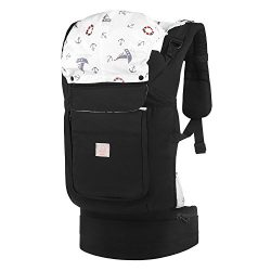 GAGAKU Soft Front and Back Baby Carrier Backpack Soft Cotton Child Carriers for Infants Toddlers ...