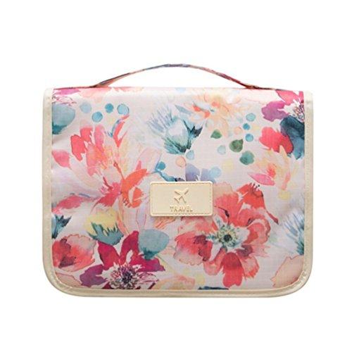 Portable Hanging Travel Cosmetic Bag – Mr.Pro Waterproof Organizer Travel Makeup Toiletry  ...