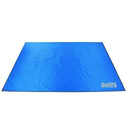 OUTRY Waterproof Multi-Purpose Tarp – Tent Stakes Included – Blue – M –  ...