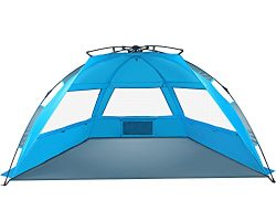 TAGVO Pop Up Beach Tent Sun Shelter Easy Set Up Tear Down, Portable Instant Beach Baby Canopy Li ...