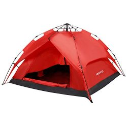 ANCHEER Portable 2 Person Camping Tent for Kids & Adults – Waterproof Pop Up Backpacki ...