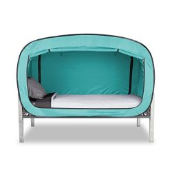 Privacy Pop Bed Tent (Twin) – TEAL