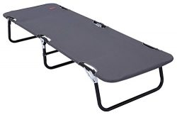 Tough Outdoors Indoor Sleeping Cot [Large] with Carry Handles – Portable Folding Bed for G ...