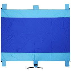 SONGMICS Sand-Resistant Beach Blanket Mat 7′ x 9′ Extra Large Water-Resistant Picnic ...