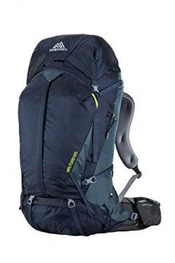 Gregory Mountain Products Baltoro 65 Liter Men's Backpack, Navy Blue, Large