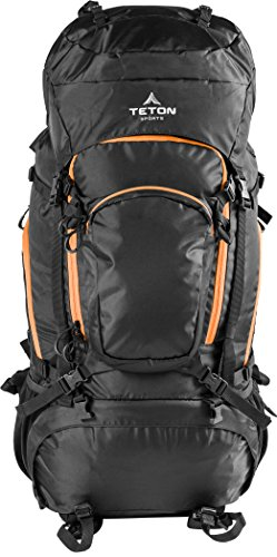 Teton Sports Grand 5500 Backpack; Lightweight Hiking Backpack for Camping, Hunting, Travel, and  ...