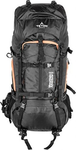 Teton Sports Mountain Adventurer 4000 Backpack; Lightweight Hiking Backpack for Camping, Hunting ...